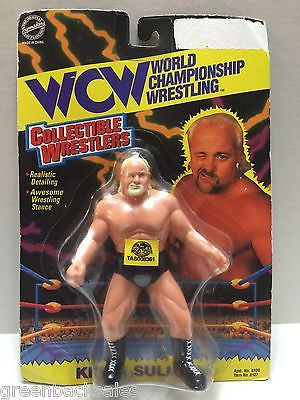 (TAS008361) - WCW WWE WWF TOSFTM Collectible Wrestlers - Kevin Sullivan, , Action Figure, Wrestling, The Angry Spider Vintage Toys & Collectibles Store