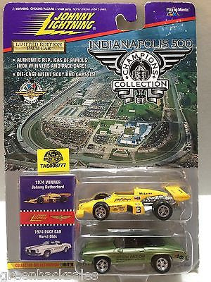 (TAS008777) -  Johnny Lightning Muscle Cars - 1974 Johnny R & Pace Car, , Trucks & Cars, Johnny Lightning, The Angry Spider Vintage Toys & Collectibles Store