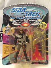 (TAS001146) - Playmates Star Trek The Next Generation - Gowron the Kingon, , Action Figure, Star Trek, The Angry Spider Vintage Toys & Collectibles Store