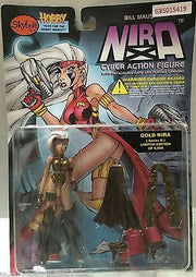 (TAS031592) - Skybolt NIRA Cyber Action Figure - Gold Nira (Series II), , Action Figure, n/a, The Angry Spider Vintage Toys & Collectibles Store