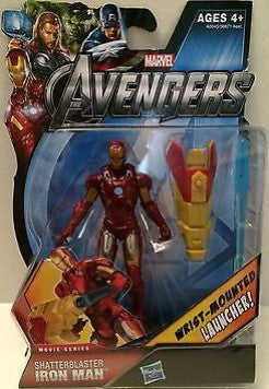 (TAS003578) - Hasbro Marvel The Avengers - Shatterblaster Iron Man, , Action Figure, Iron Man, The Angry Spider Vintage Toys & Collectibles Store