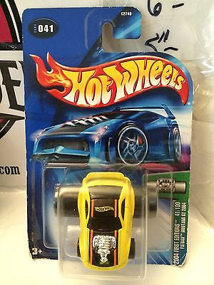 (TAS004803) - Hot Wheels '04 First Editions 41/100 Fatbax Mustang GT 2004, , Cars, Hot Wheels, The Angry Spider Vintage Toys & Collectibles Store