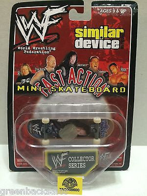 (TAS008600) - WWF Similar Device Fast Action Mini Skateboard - The Undertaker, , Action Figure, Wrestling, The Angry Spider Vintage Toys & Collectibles Store