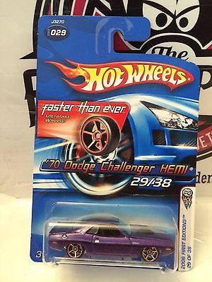 (TAS004428) - Hot Wheels '06 First Editions 29/38 - '70 Dodge Challenger HEMI, , Cars, Hot Wheels, The Angry Spider Vintage Toys & Collectibles Store