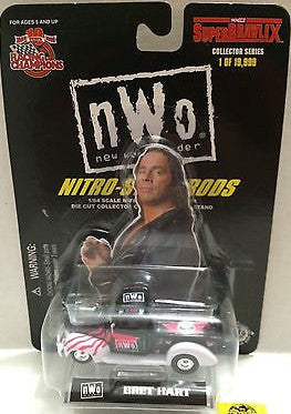 (TAS006134) - Racing Champions WCW Nitro-Streetrods 1:64 Die-Cast -Bret Hart, , Trucks & Cars, Racing Champions, The Angry Spider Vintage Toys & Collectibles Store