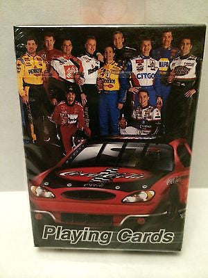 (TAS030494) - 2002 Bicycle NASCAR Family Playing Cards - Coca Cola Car, , Playing Cards, NASCAR, The Angry Spider Vintage Toys & Collectibles Store