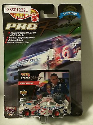 (TAS030510) - 1998 Mattel Hot Wheels Pro Racing Mark Martin #6 - SynPower, , Trucks & Cars, NASCAR, The Angry Spider Vintage Toys & Collectibles Store