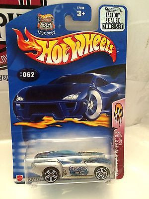 (TAS004524) - Hot Wheels Flamin' Hot Wheels 3/5 Pony-Up - Collector #062, , Cars, Hot Wheels, The Angry Spider Vintage Toys & Collectibles Store