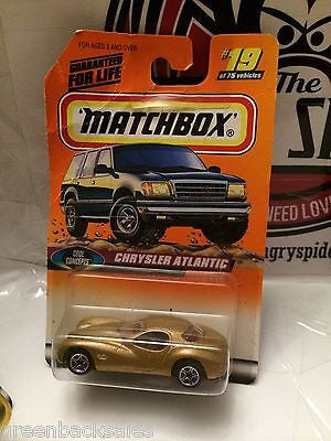 (TAS031540) - Matchbox Toy Car - Chrysler Atlantic, , Cars, Matchbox, The Angry Spider Vintage Toys & Collectibles Store