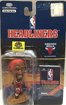 (TAS008260) - NBA Headliners Sports Figure - Dennis Rodman, , Action Figure, NBA, The Angry Spider Vintage Toys & Collectibles Store