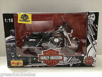 (TAS006597) - Maisto - Harley Davidson Motor Cycles, , Trucks & Cars, Maisto, The Angry Spider Vintage Toys & Collectibles Store