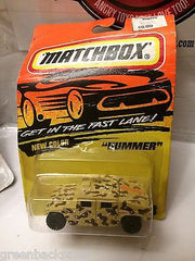 (TAS031537) - Matchbox Toy Car - Hummer, , Cars, Matchbox, The Angry Spider Vintage Toys & Collectibles Store