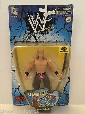 (TAS009686) - 1998 Jakks WWF Slammers 2 Wreestling Figure - Shawn Michaels, , Other, JAKKS Pacific, The Angry Spider Vintage Toys & Collectibles Store  - 1