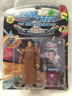 (TAS001056) - Playmates Star Trek The Next Generation - Captain Picard Romulan, , Action Figure, Star Trek, The Angry Spider Vintage Toys & Collectibles Store