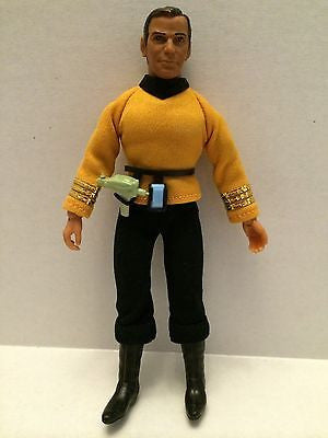 (TAS000725) - Used Star Trek Figure - Captain Kirk  with Communicator, , Dolls, Star Trek, The Angry Spider Vintage Toys & Collectibles Store
