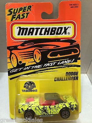 (TAS009443) - Matchbox Cars - Dodge Challenger, , Cars, Matchbox, The Angry Spider Vintage Toys & Collectibles Store