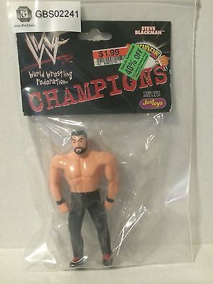 (TAS031462) - WWE WCW WWF Wrestling Bend-Ems Champions - Steve Blackman, , Action Figure, Wrestling, The Angry Spider Vintage Toys & Collectibles Store