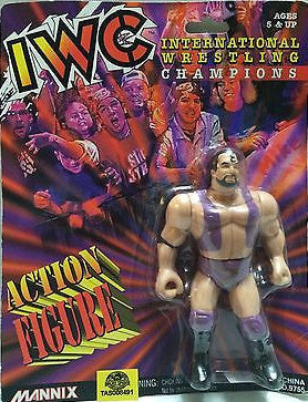 "(TAS008491) - Mannix - IWC ""International Wrestling Champions"" - Scott Hall, , Action Figure, Wrestling, The Angry Spider Vintage Toys & Collectibles Store"