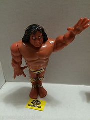 (TAS005108) - WWE WWF WCW nWo Wrestling Hasbro Action Figure - Jimmy Snuka, , Action Figure, Wrestling, The Angry Spider Vintage Toys & Collectibles Store