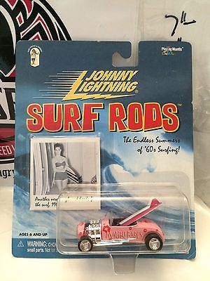 (TAS004300) - Johnny Lightning Surf Rods - Malibu Babes, , Cars, Johnny Lightning, The Angry Spider Vintage Toys & Collectibles Store
