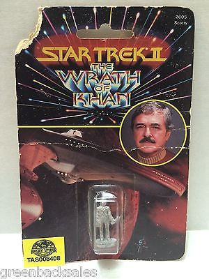 (TAS008408) - Collectible Star Trek the Wrath of Khan Figure, , Action Figure, Star Trek, The Angry Spider Vintage Toys & Collectibles Store