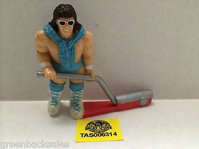 (TAS006314) - WWE WWF WCW nWo Wrestling PVC Hockey Player Figure - Rick Martel, , Action Figure, n/a, The Angry Spider Vintage Toys & Collectibles Store