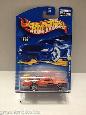 (TAS010428) - 2000 Mattel Hot Wheels Die Cast Replica - '68 El Camino, , Trucks & Cars, Hot Wheels, The Angry Spider Vintage Toys & Collectibles Store  - 1
