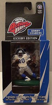 (TAS003636) - Topps Actions Flats Kickoff Edition - NFL Barry Sanders, , Action Figure, Topps, The Angry Spider Vintage Toys & Collectibles Store