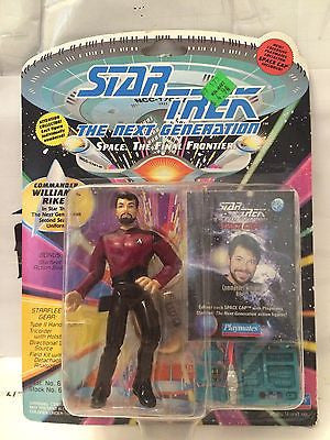 (TAS001067) - Playmates Star Trek The Next Generation - Commander William Riker, , Action Figure, Star Trek, The Angry Spider Vintage Toys & Collectibles Store