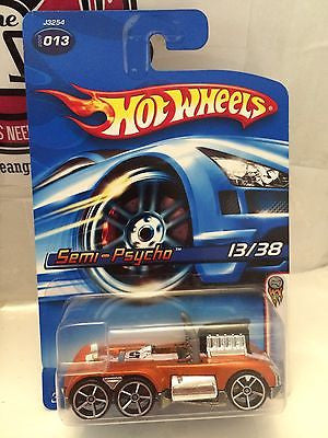 (TAS004540) - Hot Wheels Semi-Psycho 13/38 - Collector #013, , Cars, Hot Wheels, The Angry Spider Vintage Toys & Collectibles Store