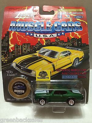 (TAS008775) -  Johnny Lightning Muscle Cars - 1970 Chevelle SS, , Trucks & Cars, Johnny Lightning, The Angry Spider Vintage Toys & Collectibles Store