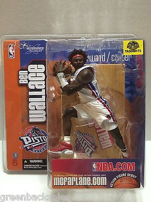 (TAS008172) - McFarlane Sports Action Figure - NBA Detroit Pistons Ben Wallace, , Action Figure, n/a, The Angry Spider Vintage Toys & Collectibles Store