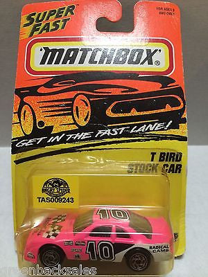 (TAS009243) - Matchbox Racing Car - T Bird Stock Car, , Cars, Matchbox, The Angry Spider Vintage Toys & Collectibles Store
