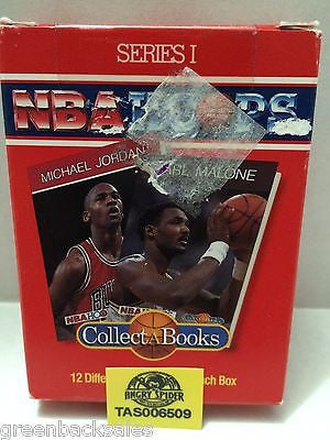 (TAS006509) - NBA Hoops Series I - Collect A Book, , Books, NBA, The Angry Spider Vintage Toys & Collectibles Store