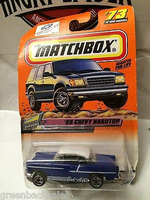 (TAS031530) - Matchbox Toy Car - '55 Chevy Hardtop, , Cars, Matchbox, The Angry Spider Vintage Toys & Collectibles Store