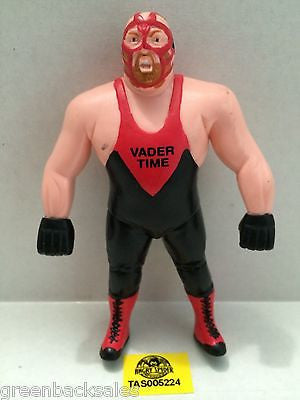 "(TAS005224) - WWE WWF WCW Wrestling Bend-Ems Figure - ""Vader Time"" Vader, , Sports, Varies, The Angry Spider Vintage Toys & Collectibles Store"