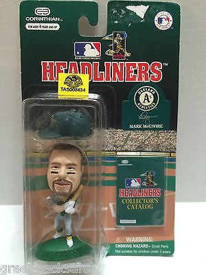 (TAS008434) - MLB NBA NFL NHL Headliners Sports Figure - Mark McGwire, , Action Figure, MLB, The Angry Spider Vintage Toys & Collectibles Store