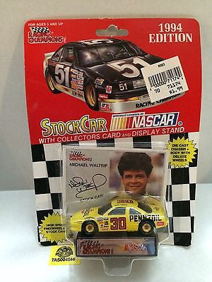 (TAS004846) - Racing Champions StockCar Nascar - Michael Waltrip #30, , Other, Varies, The Angry Spider Vintage Toys & Collectibles Store