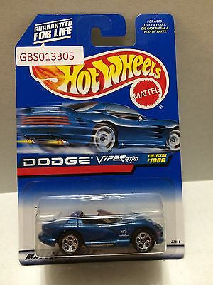 (TAS030905) - Hot Wheels Car - Dodge Viper, , Cars, Hot Wheels, The Angry Spider Vintage Toys & Collectibles Store