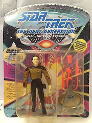 (TAS001054) - Playmates Star Trek The Next Generation - Lt Commander Data, , Action Figure, Star Trek, The Angry Spider Vintage Toys & Collectibles Store