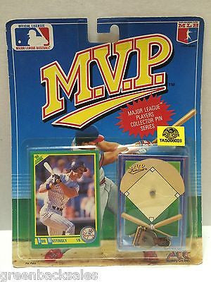 (TAS008028) - MLB NBA NFL NHL M.V.P. Sports Figure - Don Mattingly, , Action Figure, MLB, The Angry Spider Vintage Toys & Collectibles Store