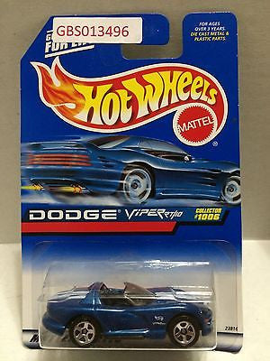 (TAS030958) - Mattel Hot Wheels Car - Dodge Viper RT/10, , Cars, Hot Wheels, The Angry Spider Vintage Toys & Collectibles Store
