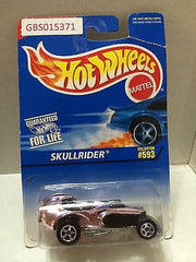 (TAS031022) - Mattel Hot Wheels Car - SkullRider, , Cars, Hot Wheels, The Angry Spider Vintage Toys & Collectibles Store