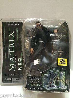 (TAS008097) - McFarlane Matrix Movie Lobby Scene Series 1 Action Figure - Neo, , Action Figure, McFarlane, The Angry Spider Vintage Toys & Collectibles Store