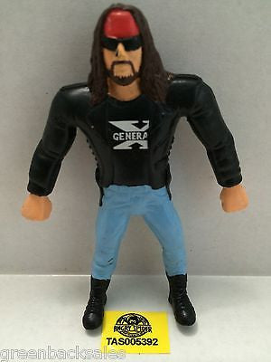 (TAS005392) - WWE WWF WCW nWo Wrestling Bend-Ems Action Figure - X-Pac, , Sports, Varies, The Angry Spider Vintage Toys & Collectibles Store