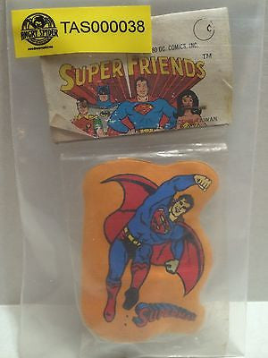 (TAS000038) - Super Friends DC Comics - Superman Pencil Sharpener, , Pencil, DC Comics, The Angry Spider Vintage Toys & Collectibles Store