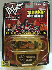 (TAS008552) - WWF WWE Fast Action Mini Skateboard - Stone Cold Steve Austin, , Action Figure, Wrestling, The Angry Spider Vintage Toys & Collectibles Store