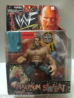 (TAS031623) - Jakks WWF WWE Wrestling Maximum Sweat - Hunter Hearst-Helmsley, , Action Figure, Wrestling, The Angry Spider Vintage Toys & Collectibles Store