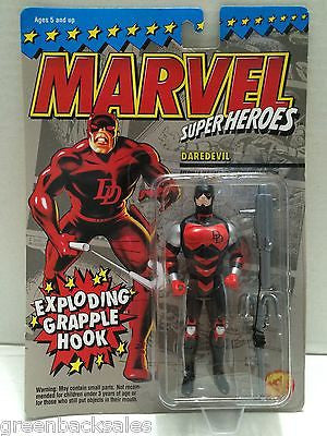 (TAS010373) - 1994 Marvel Comics Superheroes Figure - Daredevil w/ grapple hook, , Action Figure, Marvel Toys, The Angry Spider Vintage Toys & Collectibles Store  - 1