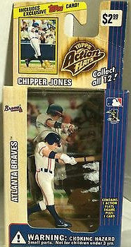 (TAS000250) - 1999 Topps Action Flats - Chipper Jones Atlanta Braves, , Action Figure, Topps, The Angry Spider Vintage Toys & Collectibles Store